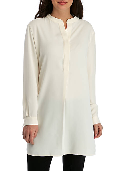 Anne Klein Long Tunic Blouse