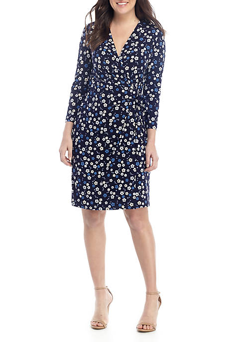 Anne Klein ITY Wrap Dress