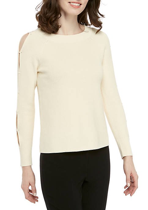 Anne Klein Latter Sleeve Sweater