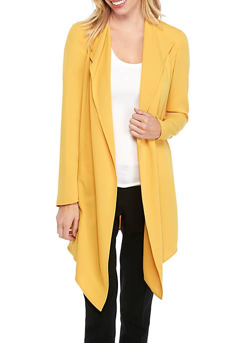 Drape Front Soft Jacket