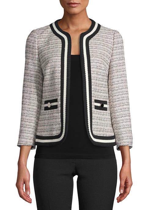 Womens Tweed Knit Jacket