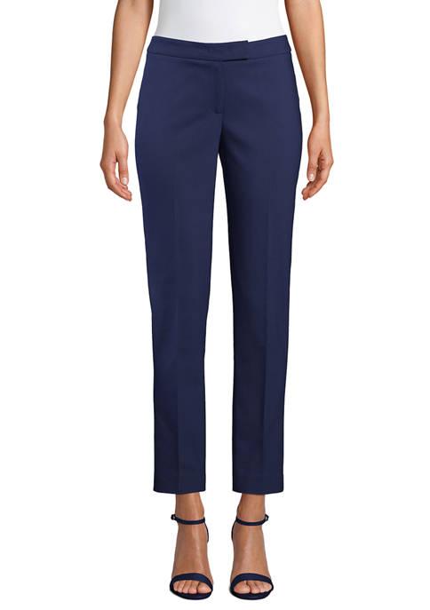 Anne Klein Womens Linen Pants
