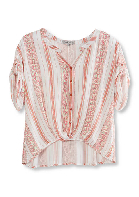 Almost Famous Plus Size Dolman Sleeve Top