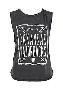 Arkansas Ruffy Vintage Wash Tank