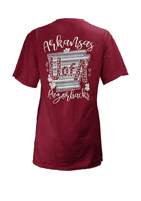 Arkansas Razorbacks Memory Board Coast T Shirt