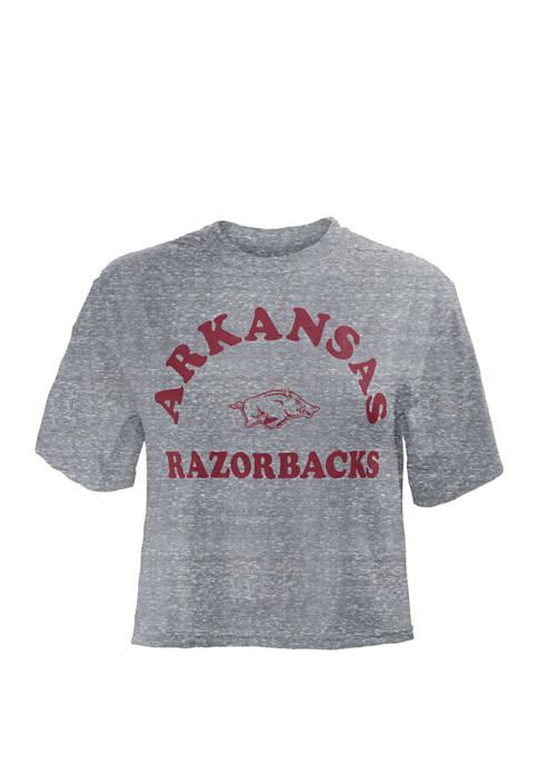 NCAA Arkansas Razorbacks Summer Camp Crop Top
