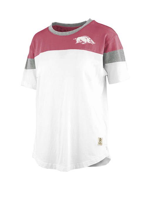 Pressbox NCAA Arkansas Razorbacks Blossom Jersey T-Shirt