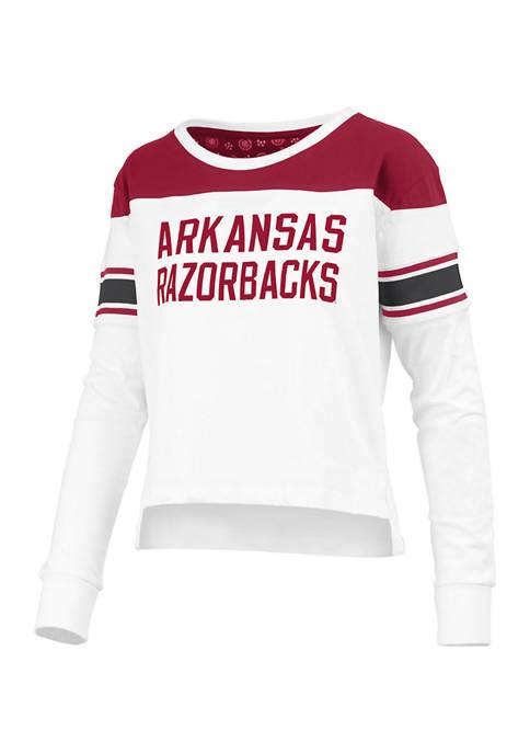 Pressbox Womens NCAA Arkansas Razorbacks Kaia Long Sleeve