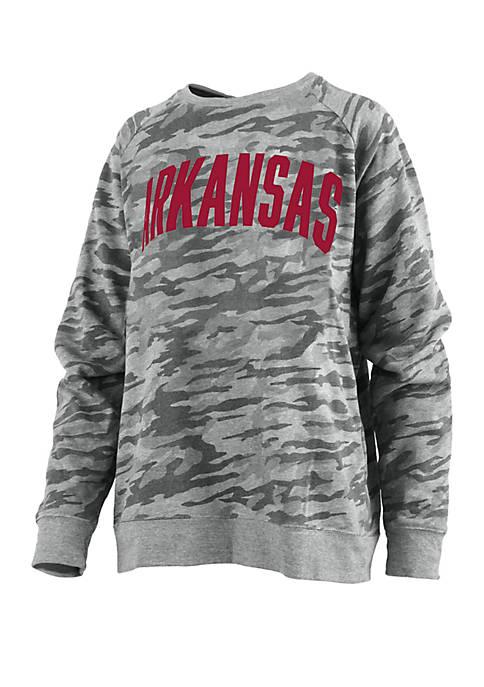 Arkansas Razorbacks Gulfport Fleece T Shirt