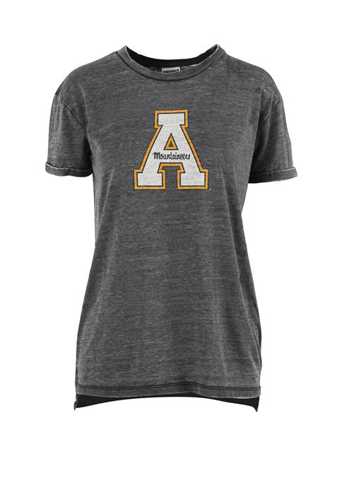 Pressbox Womens NCAA Appalachian State Mountaineers Mercy Vintage