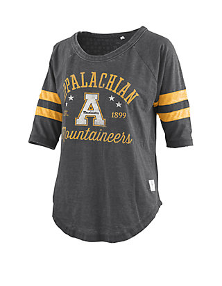 huge selection of 79bb4 4dfa2 Appalachian State Mountaineers Vintage Wash Jersey T Shirt
