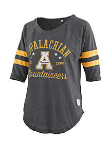 ROYCE Appalachian State Mountaineers Vintage Wash Jersey T Shirt