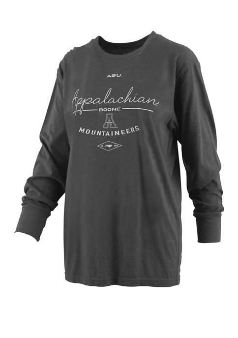 Womens NCAA Appalachian State Mountaineers Farrah Melange T-Shirt