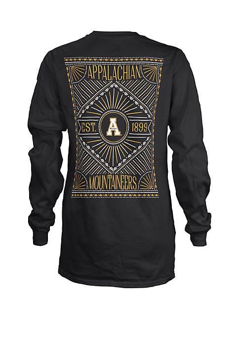 ROYCE Appalachian State Mountaineers Long Sleeve T Shirt