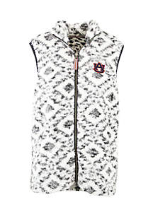 Auburn Tigers Tribal Poodle Fleece Vest