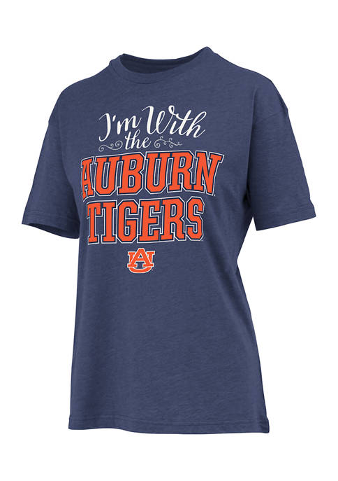 Womens NCAA Auburn Tigers Im With Them T-Shirt