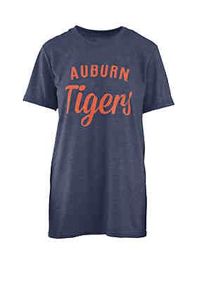 1f527eb6 ROYCE Auburn Tigers Trudy Melange Crew T Shirt
