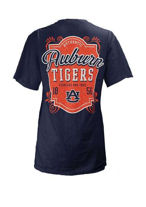 Pressbox Womens NCAA Auburn Tigers Jubilee Jersey T-Shirt