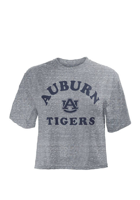Pressbox Womens NCAA Auburn Tigers Cropped Camp T-Shirt