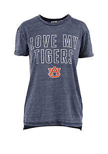 ROYCE Auburn Tigers Vintage Wash Short Sleeve T Shirt