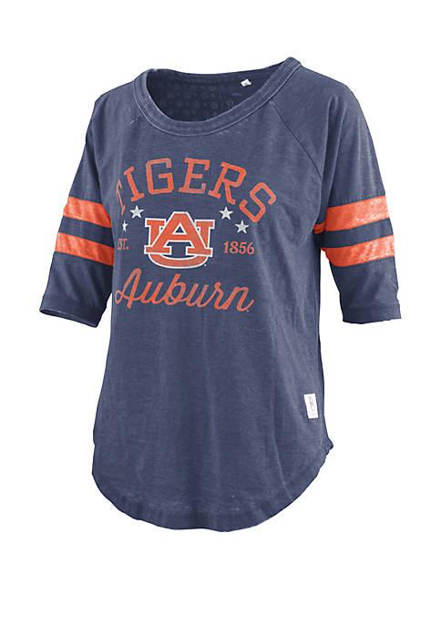 ROYCE Auburn Tigers Vintage Wash Jersey Short Sleeve