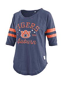 ROYCE Auburn Tigers Vintage Wash Jersey Short Sleeve T Shirt