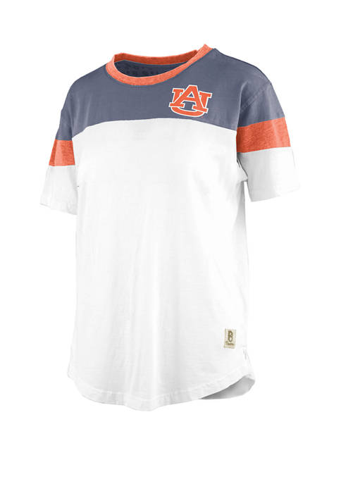 Pressbox Womens NCAA Auburn Tigers Blossom Jersey T-Shirt