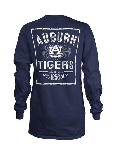 Womens NCAA Auburn Tigers Daisy Jersey T-Shirt