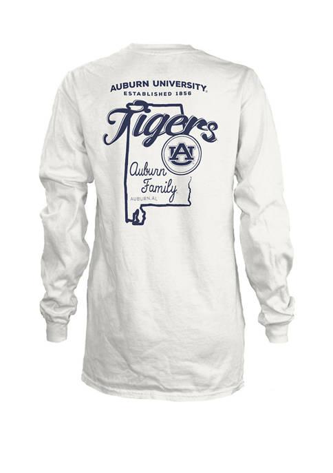 Womens NCAA Auburn Tigers State Jersey T-Shirt