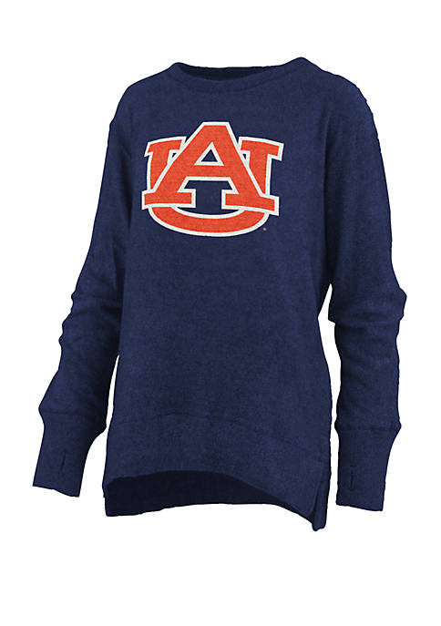 Womens NCAA Auburn Tigers Fresno Cuddle Knit Pullover