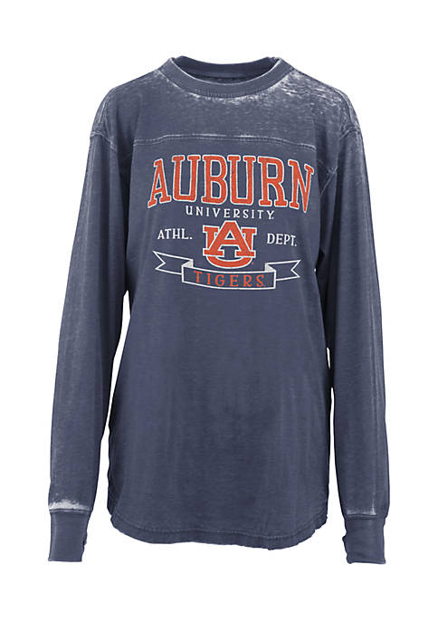 ROYCE Long Sleeve Auburn Debbie Piston Oversized Pieced