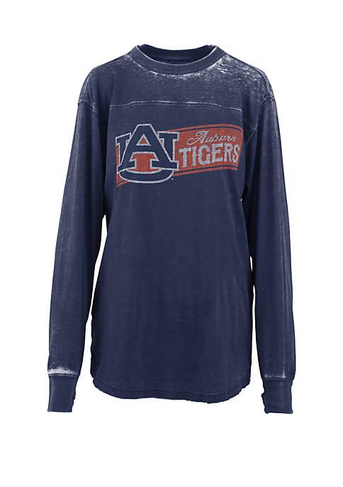 Pressbox Auburn Tigers Stripes Vintage Wash T Shirt