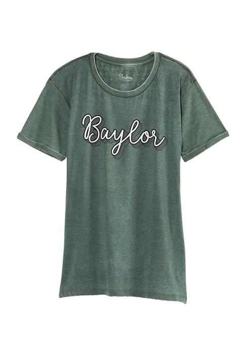 Womens NCAA Baylor Bears Go Girl Boyfriend Fit T-Shirt