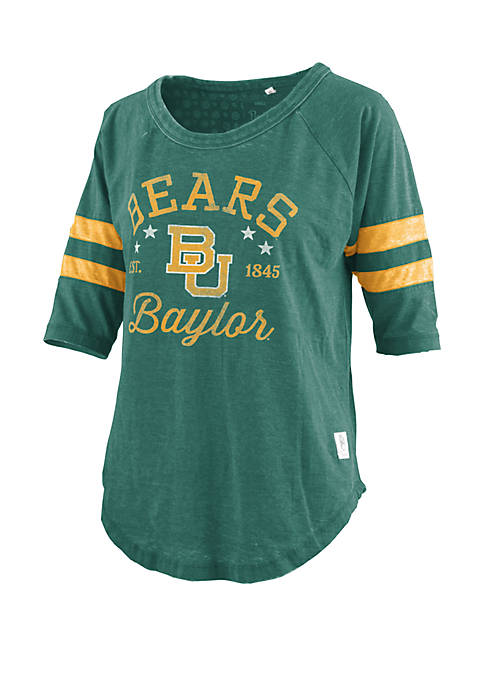 ROYCE Baylor Bears Vintage Wash Jersey T Shirt