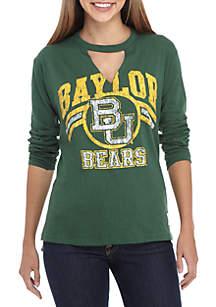 Baylor Bears Crew Neck Choker Long Sleeve Tee