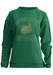 Charlotte 49ers Thin Arch Mock Neck Top