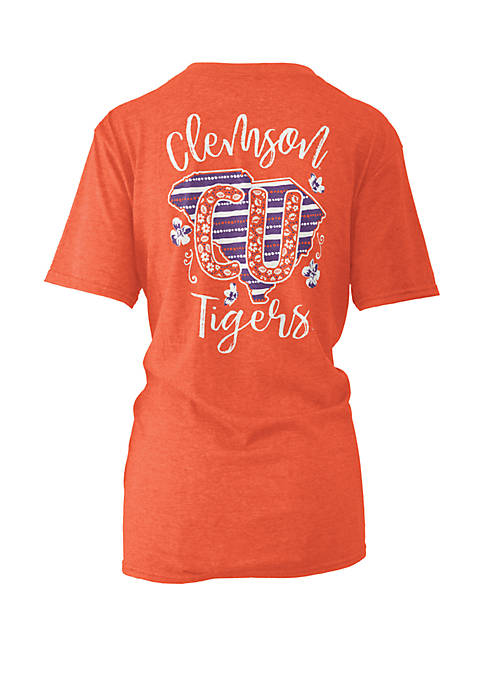 ROYCE Clemson Tigers Memory Board Coast T Shirt