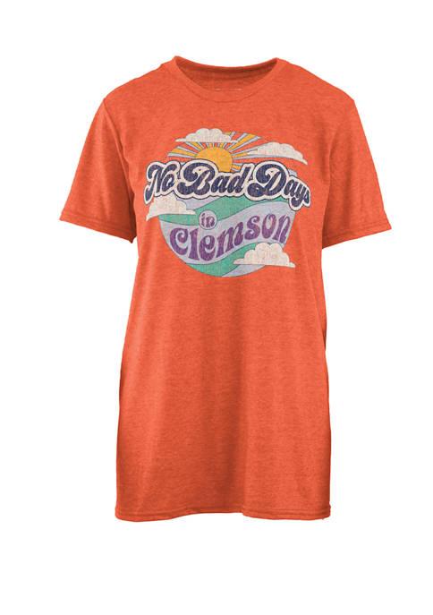 NCAA Clemson Tigers No Bad Days Melange T-Shirt
