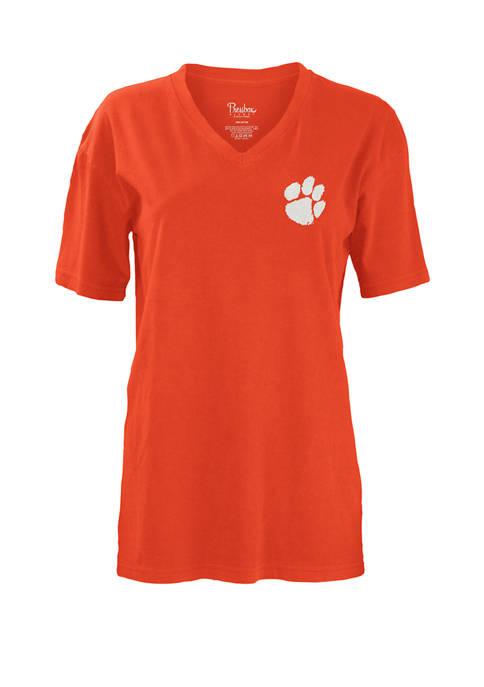 Pressbox Womens NCAA Clemson Tigers Jubilee T-Shirt