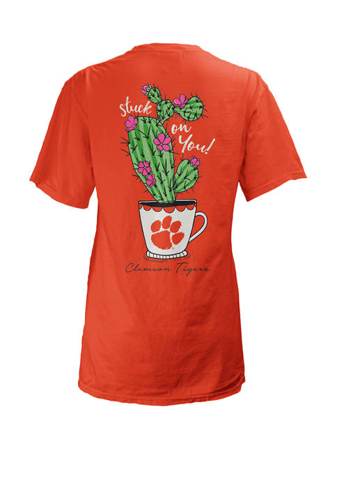 Pressbox Womens NCAA Clemson Tigers Graphic T-Shirt