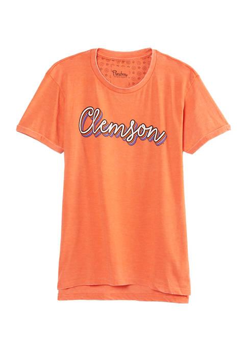 Womens NCAA Clemson Tigers Go Girl Boyfriend T-Shirt
