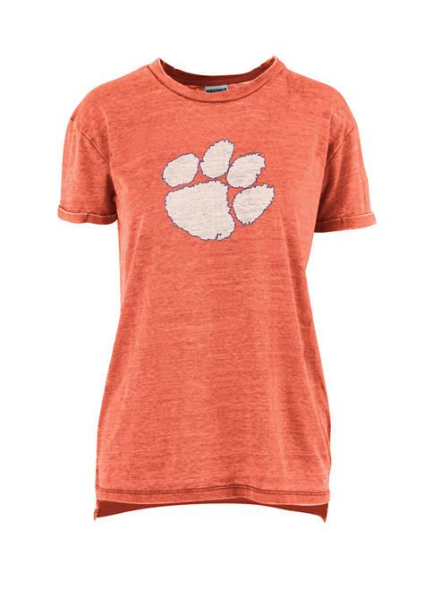 Pressbox Womens NCAA Clemson Tigers Mercy T-Shirt