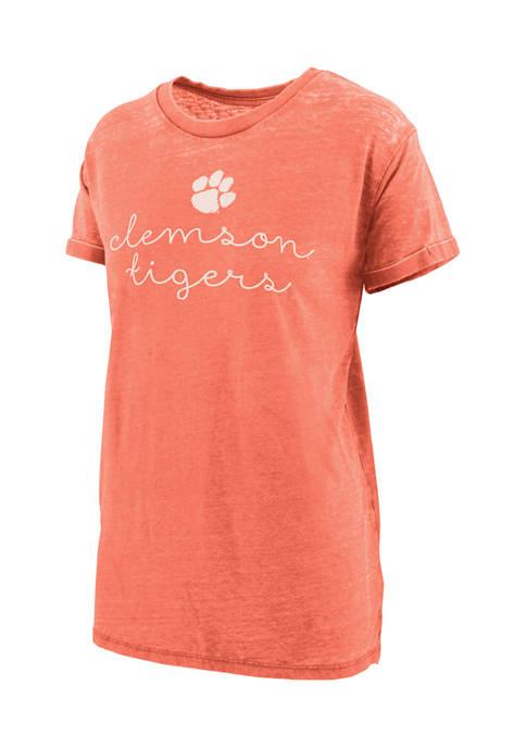 Pressbox NCAA Clemson Tigers Ryland Script Graphic T-Shirt