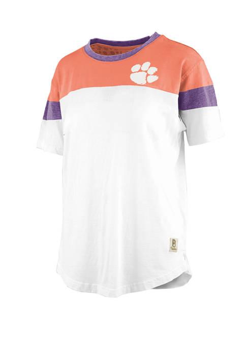Pressbox NCAA Clemson Tigers Blossom Jersey T-Shirt