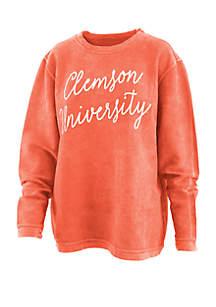 ROYCE Clemson Tigers Script Comfy T Shirt