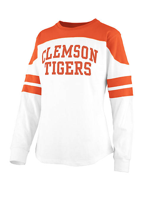 Pressbox Clemson Tigers Half Back Jersey T Shirt