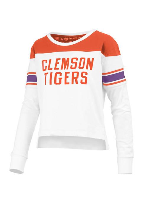 Womens NCAA Clemson Tigers Kaia Long Sleeve T-Shirt