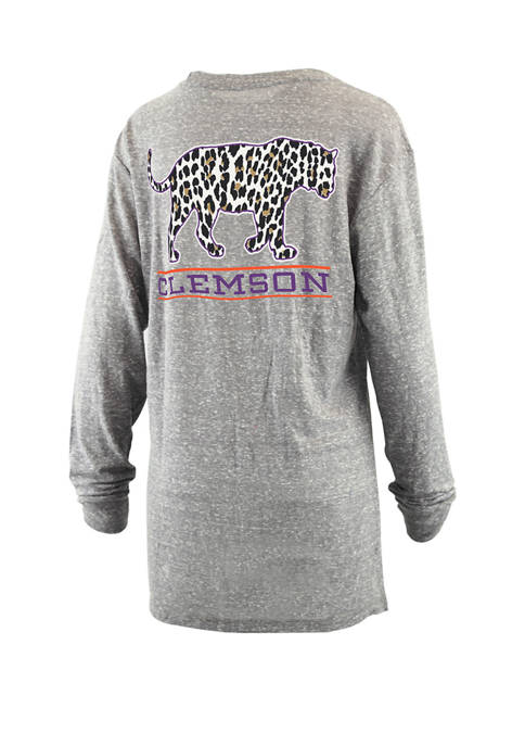 Pressbox Womens NCAA Clemson Tigers Britney Knobi T-Shirt