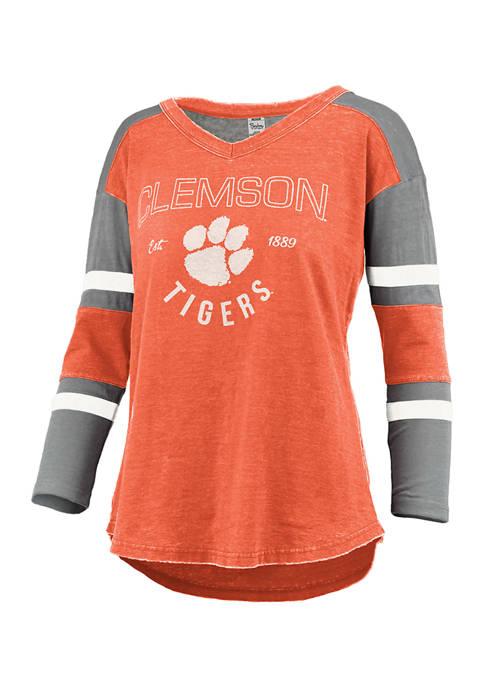 Womens NCAA Clemson Tigers Varsity T-Shirt