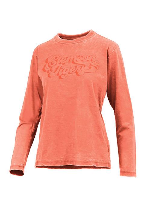 Pressbox NCAA Clemson Tigers Long Sleeve Graphic T-Shirt
